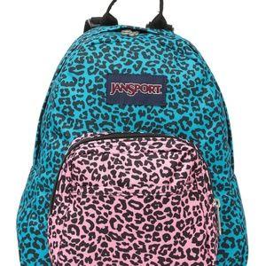 """JanSport """"Half Pint"""" Neon Mini Festival Backpack"""